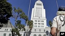 La mairie de Los Angeles va accueillir le nouvel élu, Eric Garcetti