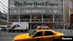 """Antes de la reprogramación el New York Times reportó que su personal estaba preparado para hablar con Trump, en su mayor parte """"on-the-record""""."""