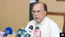 وفاقی وزیر برائے اُمور کشمیر میاں منظور احمد وٹو