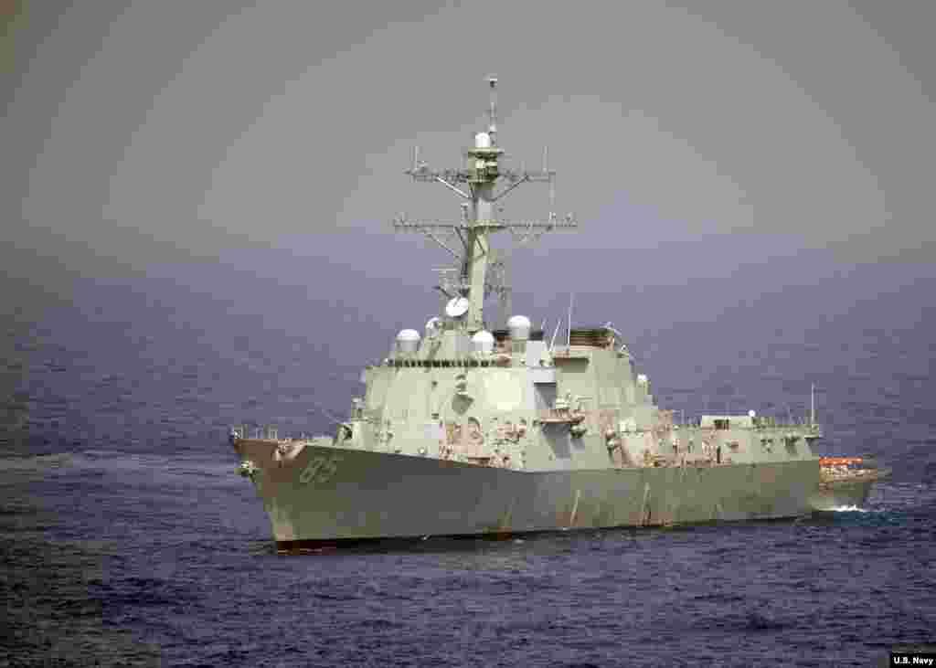 یک ماه بعد از تنش روسیه و اوکراین، ایالات متحده یک کشتی جنگی خود را به دریای سیاه فرستاده است. ماه پیش روسیه اجازه عبور به کشتی اوکراینی نداد و سه ملوان را بازداشت کرد.