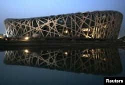 Sân vận động Tổ Chim được xây dựng cho Olympics Bắc Kinh 2008