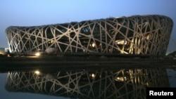 Cúp Thế giới môn trượt tuyết nội dung hỗn hợp sẽ diễn ra vào cuối tuần này tại Sân vận động Tổ Chim, tức là sân vận động Olympic quốc gia của Bắc Kinh.