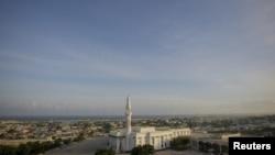 Somali poytaxti Mogadishu, parlament binosi.