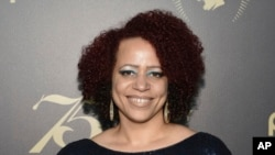 Nikole Hannah-Jones accepted a job at Howard University in Washington, D.C. after a fight over her status at the University of North Carolina. This photo is from 2016. (Photo by Evan Agostini/Invision/AP, File)