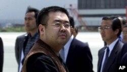 金正恩同父异母的哥哥金正男(资料照片)