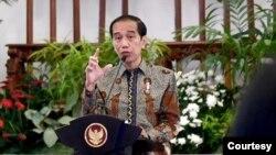 Presiden Joko Widodo dalam Sidang Kabinet , di Istana Merdeka, Jakarta, Selasa, 1 Desember 2020. (Biro Setpres).