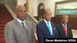 António Raposo, Carlos Stok e Leopoldo Marques, juízes afastados do TC