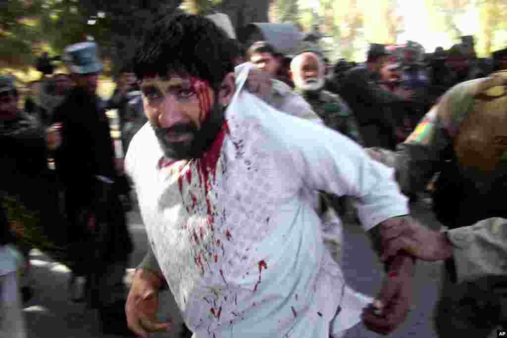 Ləşgərgahdakı Kabil Bankına hücum - 17 dekabr, 2014