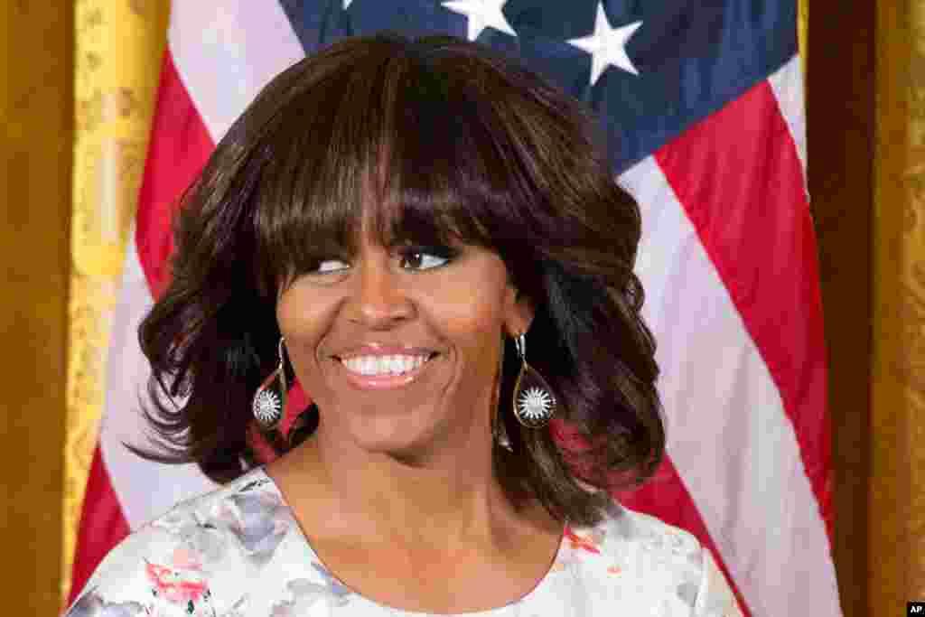 Michelle Obama completa 50 anos a 17 de Janeiro, 2013