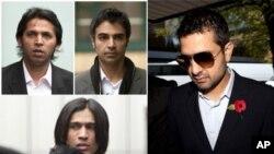 ایجنٹ مظہر مجید، سلمان بٹ، محمد آصف اور محمد عامر