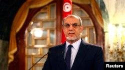 Thủ tướng Tunisia Hamadi Jebali loan báo từ chức tại cuộc họp báo trong thủ đô Tunis, 19/2/13