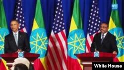 Barack Obama e Hailemariam Desalegn
