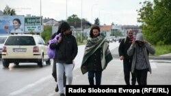 Migranti u Bihaću, 29. maj 2020.