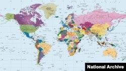 هم اکنون حدود ۱۹۵ کشور در جهان وجود دارد
