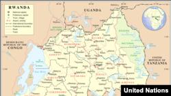 Ikarita y'u Rwanda