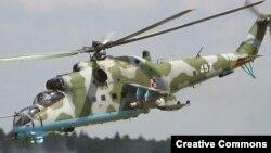 """Російський Mi-35 """"Крокодил"""""""