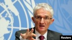 Mark Lowcock, Secrétaire général adjoint de l'ONU pour les Affaires humanitaires.