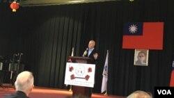 前美國副總統切尼國安顧問葉望輝(美國之音鍾辰芳拍攝)