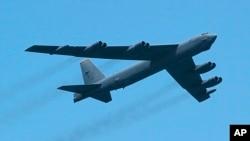 美国B-52轰炸机。(资料图片)