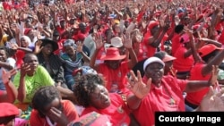 FILE: MDC supporters attending a recent rally in Harare. (Photo: MDC Facebook Page)