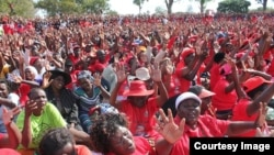 FILE: MDC supporters captured at a party rally in Harare. (Photo: MDC Facebook Page)