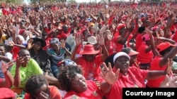 FILE: MDC supporters at a rally in Harare (Photo: MDC Facebook Page)