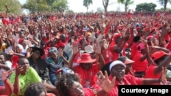 FILE: MDC supporters at a rally addressed by Morgan Tsvangirai. (Photo: MDC Facebook Page)
