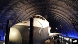 Phi thuyền Enterprise được mang ra triển lãm tại viện Bảo tàng Không gian và Biển Intrepid ở New York