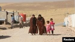 ملل متحد برای بیجا شدهگان شهر موصل کمپهای موقت ایجاد کرده است