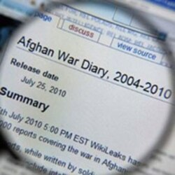 Afghan War Diary on WikiLeaks