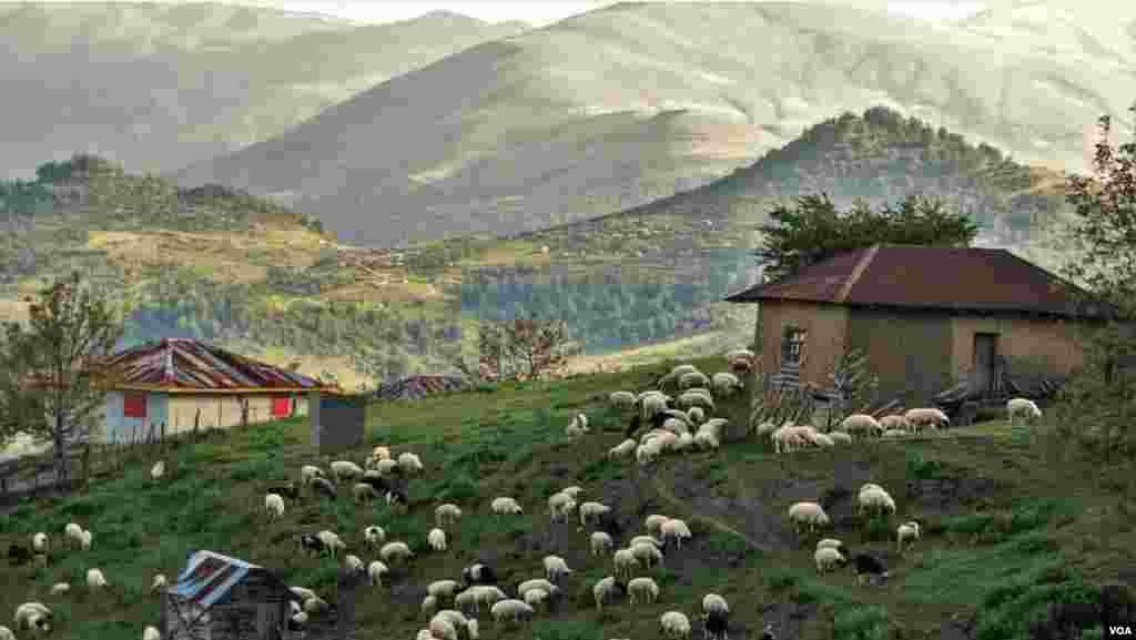 ارتفاعات تالش، اسالم در استان گیلان عکس: کیوان (ارسالی شما)