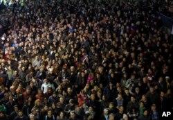 """Još jedan protest protiv aktuelne vlasti """"Jedan od pet miliona"""" održan je u Beogradu, 2. marta 2019."""