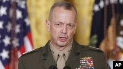Đại tướng Mỹ John Allen, tư lệnh lực lượng NATO ở Afghanistan