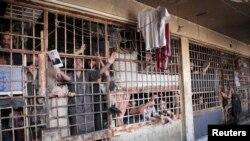 시리아 알레포의 감옥 (자료사진)