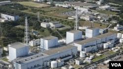 Salah satu reaktor nuklir di Fukushima, Jepang timur laut (foto: dok).