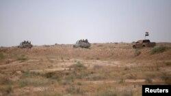 이라크와 시리아의 국경 지역. (자료사진)