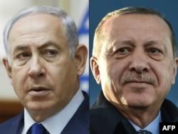 Cumhurbaşkanı Erdoğan ve İsrail Başbakanı Netanyahu