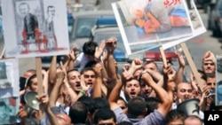 反對阿薩德的集會。
