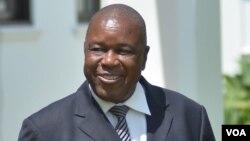 War Veterans Minister Christopher Mutsvangwa.