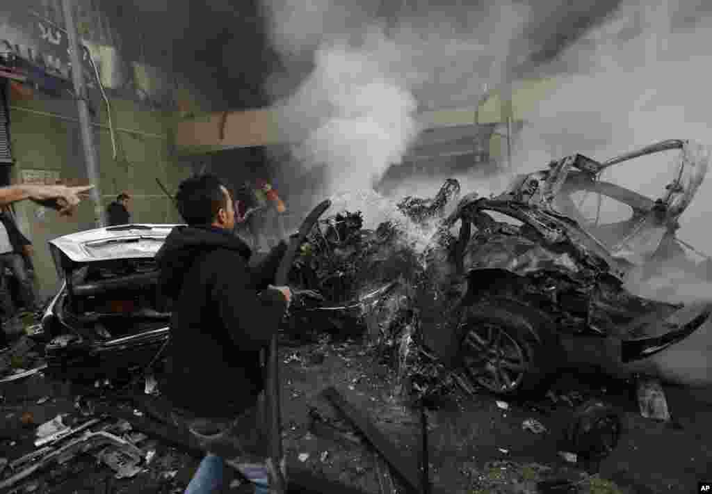 Beyrutda bomba hücumu - 2 yanvar, 2013