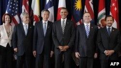Барак Обама с лидерами АТЭС