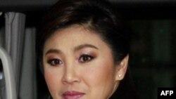 Thủ tướng đắc cử Yingluck Shinawatra của Đảng Puea Thai dự phiên khai mạc Quốc hội Thái Lan ở Bangkok, ngày 1/8/2011