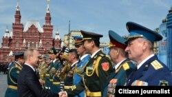 Presiden Rusia Vladimir Putin (Foto: dok.)
