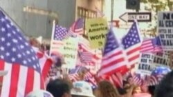یک ایرانی در اعتراض به قوانین مهاجرت ایالت آریزونای آمریکا بازداشت شد و با تهدید اخراج از آمریکا مواجه است