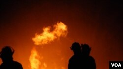 En un principio que el sistema de rociadores del centro comercial había sofocado las llamas.