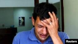 Abdullah Kurdi, otac trogodišnjeg dječaka koji se utopio. Mugla, Turkey, Sept. 3, 2015.