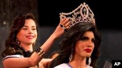 Argenis González fue coronada como Miss Gay Venezuela.