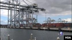 南加州港口貨物堵塞