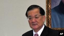前台灣副總統連戰(圖)代表總統馬英九出席亞太經濟合作組織峰會﹐將有機會與中國國家主席胡錦濤見面。