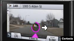 La nuviCam de Garmin sirve de GPS y de cámara de tablero.